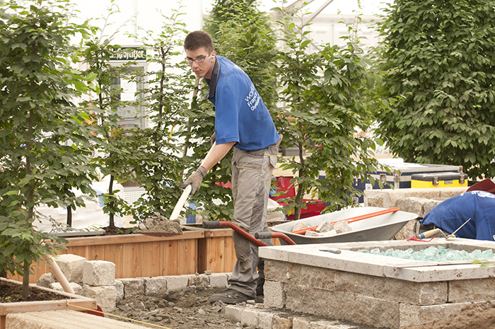 Jardinerie paysagiste olympiades des m tiers for Paysagiste 37