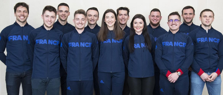 Equipe de France des métiers 2019